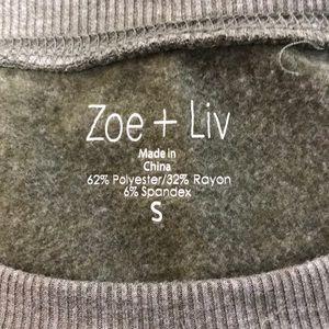 zoe + Liv Tops - Zoe + Liv sz S camo crewneck Sweatshirt
